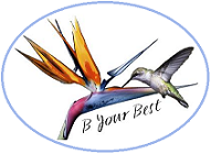 B Your Best Logo